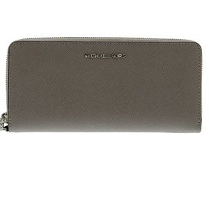 Michael Kors wallet silver tone for women